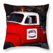 Wallys Service Truck Throw Pillow