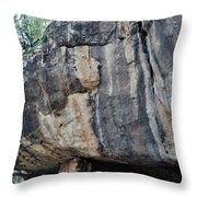 Walnut Canyon National Monument Portrait Throw Pillow