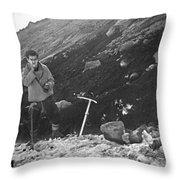 T-04903-walt Buck Sellers  Throw Pillow