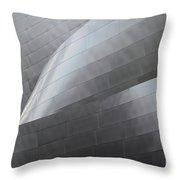 Walt Disney Concert Hall 12 Throw Pillow