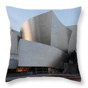 Walt Disney Concert Hall 17 Throw Pillow
