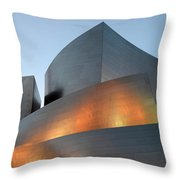 Walt Disney Concert Hall 19 Throw Pillow