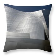 Walt Disney Concert Hall 48 Throw Pillow