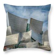 Walt Disney Concert Hall La Ca 7r2_dsc3465_17-01-17 Throw Pillow