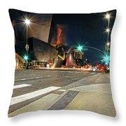Walt Disney Concert Hall - Los Angeles Art Throw Pillow