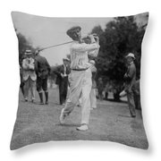 Walter Hagen Throw Pillow