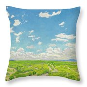 Walter Ufer 1876 - 1936 The American Desert Throw Pillow