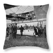 Walter Wellman (1858-1934) Throw Pillow