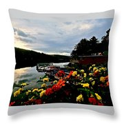 Walter's Basin 3 Throw Pillow