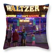 Waltzer Throw Pillow