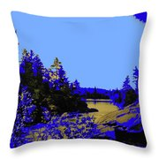 Wanapitae River Morning Throw Pillow