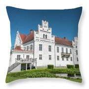 Wanas Castle Front Throw Pillow