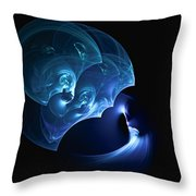 Wand At The Ready Throw Pillow