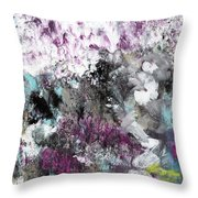 Wanderlust- Abstract Art By Linda Woods Throw Pillow