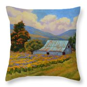 Waning Summer Throw Pillow