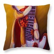 Wanna Be A Rocker Throw Pillow