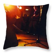 Wanna Be Rock Star Throw Pillow