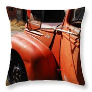 Want To Drive My Truck Throw Pillow
