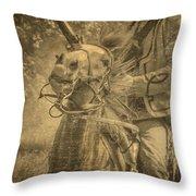 War Horse2 Throw Pillow