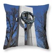 War Memorial D.c. Throw Pillow