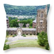 War Memorial Lyon Hall Cornell University Ithaca New York 01 Throw Pillow
