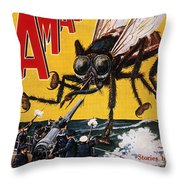 War Of The Worlds, 1927 Throw Pillow