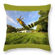 Warbird Throw Pillow