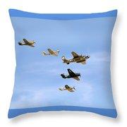 Warbirds Throw Pillow