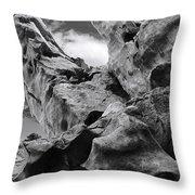 Ward Off Evil Spirits Throw Pillow by Christine Till