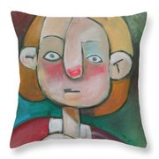 Wardrobe Malfunction Throw Pillow