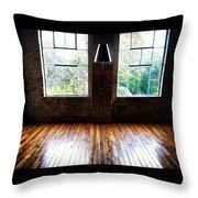 Warehouse View Throw Pillow