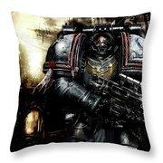 Warhammer Throw Pillow