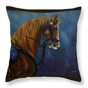 Warhorse-us Cavalry Throw Pillow