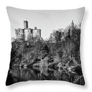 Warkworth Castle Throw Pillow