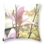 Warm Afternoon Throw Pillow