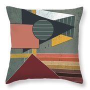 Warm Colors Throw Pillow