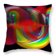 Warm Jelly Throw Pillow