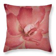 Warm Petals Throw Pillow