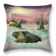 Warm Place Throw Pillow