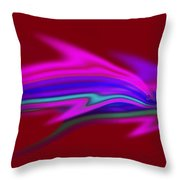 Warm Waters Throw Pillow