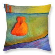 Warmed By The Sun Throw Pillow