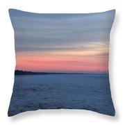 Warming Up 5 Throw Pillow