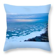 Warming Waters 2 Throw Pillow