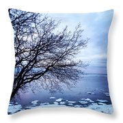 Warming Waters  Throw Pillow
