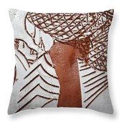 Warmth - Tile Throw Pillow