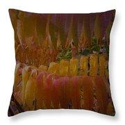 Warmth Of Autumn Throw Pillow