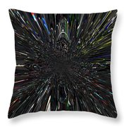 Warp Factor 2 Throw Pillow