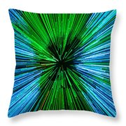 Warp Speed Mr Sulu Throw Pillow