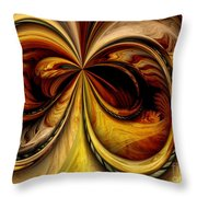 Warped Journey Throw Pillow