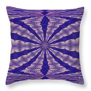 Warped Minds Eye Throw Pillow